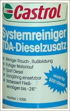 ...Castrol TDA Castrol TDA - комплексная многофункциональная присадка к...